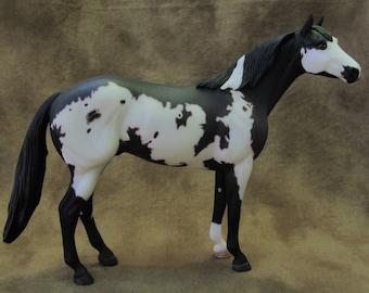Custom etched Breyer