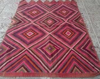 VİNTAGE Turkish  Anatolia  Kilim rug