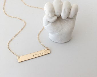"""The """"Share"""" Bar Necklace"""