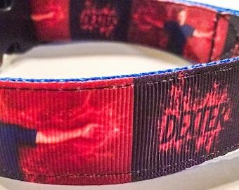 Dexter Inspired Dog Collar