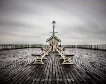 Penarth Pier 18x12 inch print photograph art South Wales Victorian Pier Dan Davidson Photography