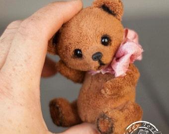 Bear Tobby, Teddy Bear ,Stuffed Animal ,Bear Soft Toys, Artist Teddy Bears