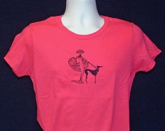 22SS Embroidered Greyhound T shirt - Erte.