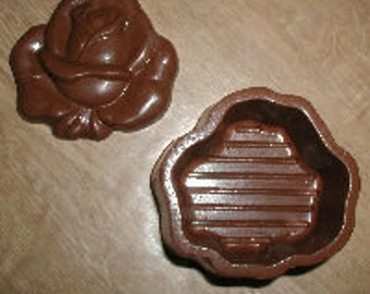 Rose Pour Box Chocolate Mold
