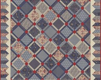 Romani Bleu by French General - Pattern