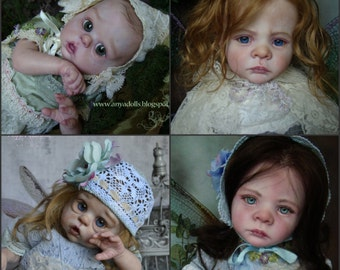 DEPOSIT ONLY Custom Reborn  FANTASY  Fairy or  Mermaid doll  ~Made to Order~