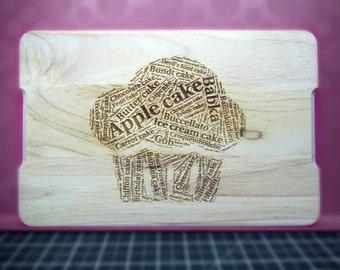 Cake - Solid Birch Chopping Board