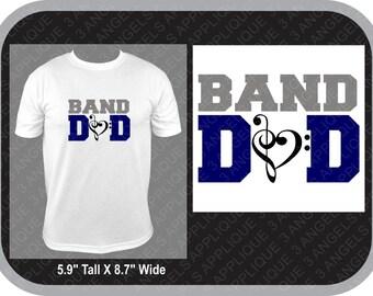 Band Dad SVG Cutter Design INSTANT DOWNLOAD