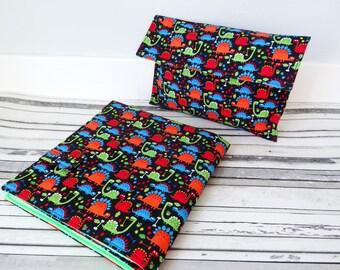 dinosaur nappy changing mat set, dinosaur diaper changing pad, baby changing mat, nappy changing mat, diaper changing pad, travel changing