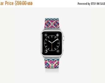 Custom Apple Watch Band. Ella Tribal. Apple Watch. 38mm Apple Watch Band. 42mm Apple Watch Band. Custom Apple Watch.
