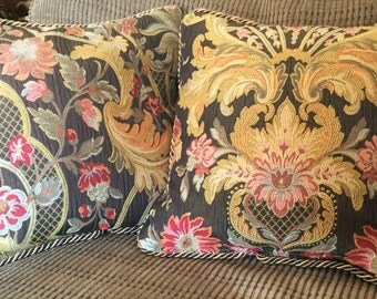 Fall Jacquard Pillow