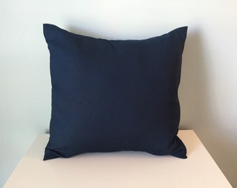 One pillow cover in Navy