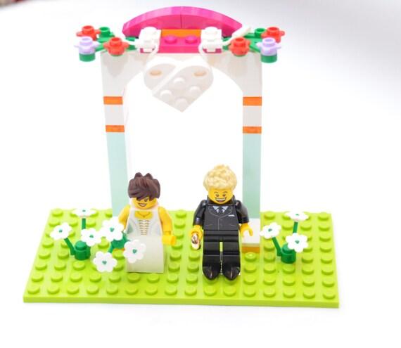 lego wedding cake topper instructions