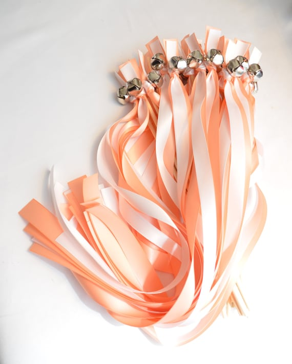 New Style 100 Wedding Wands With Bells Choose Your Colors