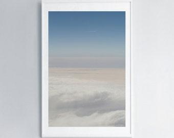 Photo Prints • Miles High •Clouds • Sky