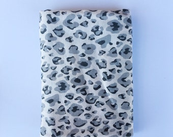 Cheetah swaddle blanket with bundle option