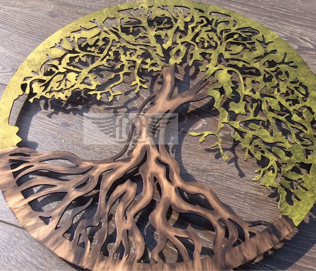 Large Metal Wall Art Tree Of Life