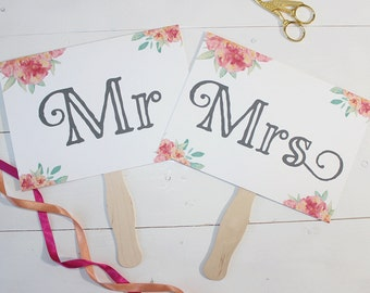 Mr & Mrs // Thank You Sign {to photograph} (Mr and Mr // Mrs and Mrs)