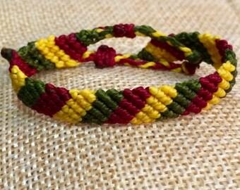Handmade Macrame Bracelet  (For Kids) (With Two Adjustable Slipknot)