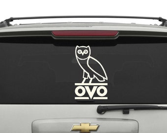 Drake OVO Owl Car Decal