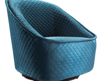 Velvet Swivel Chair *FREE SHIPPING