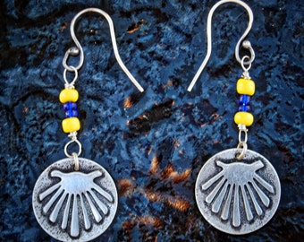 Sterling Silver Camino Shell Earrings