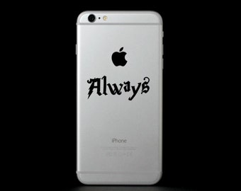 Always (Harry Potter) Phone Decal