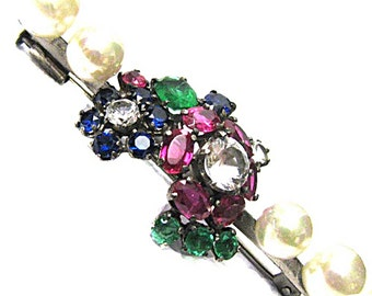 PIN barrette vintage from the 60s