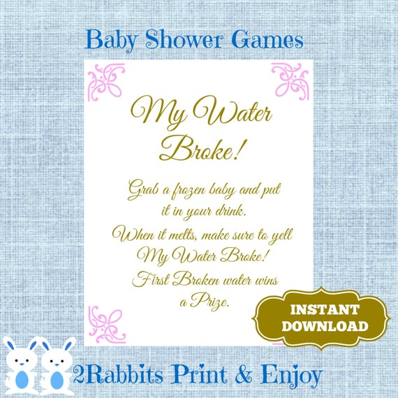 baby shower game ice cube baby shower drink shower drink game