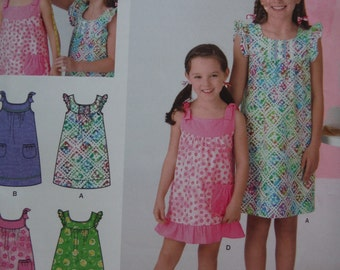 SIMPLICITY GIRL'S PATTERN S0539