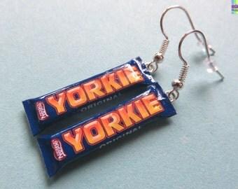 Yorkie Bar Earrings