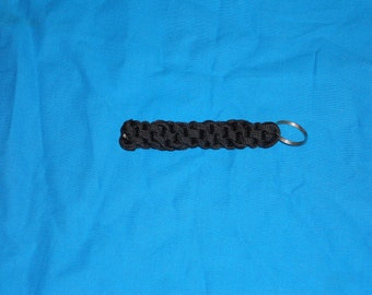 Black Paracord Key Chain