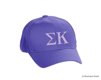 SK Sigma Kappa Classic Letters Hat