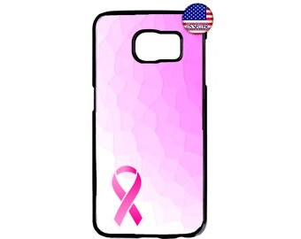 New Breast Cancer Awareness Pink Ribbon Case Cover for Samsung Galaxy S7 S6 Edge Plus S5 S4 S3 Note 7 5 4 3 2 iPod touch 4 5 6 case Cover