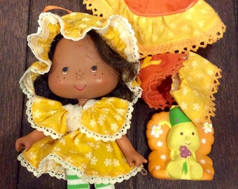 1979 Orange Blossom & Marmalade Butterfly Party Pleasers +, Strawberry Shortcake Dolls, Orange Blossom Doll, Vintage Strawberry Shortcake