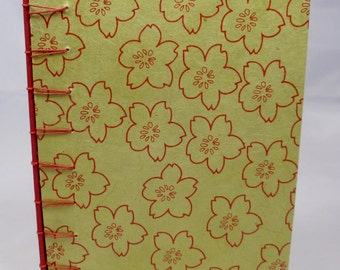 Hand - sewn Journal with Secret Belgian Binding