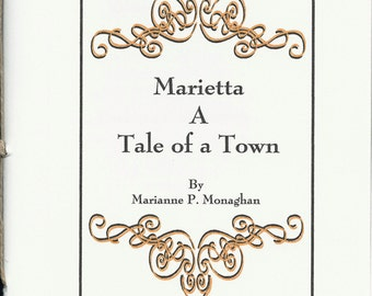 Marietta, Tale of a Town - handmade chapbook about Marietta Ohio