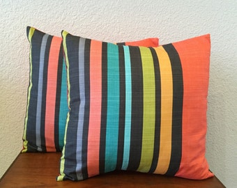 Bold Stripe Pillows