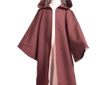 Kids Brown Star Wars Robe Childrens Jedi Cloak Boys Sizes