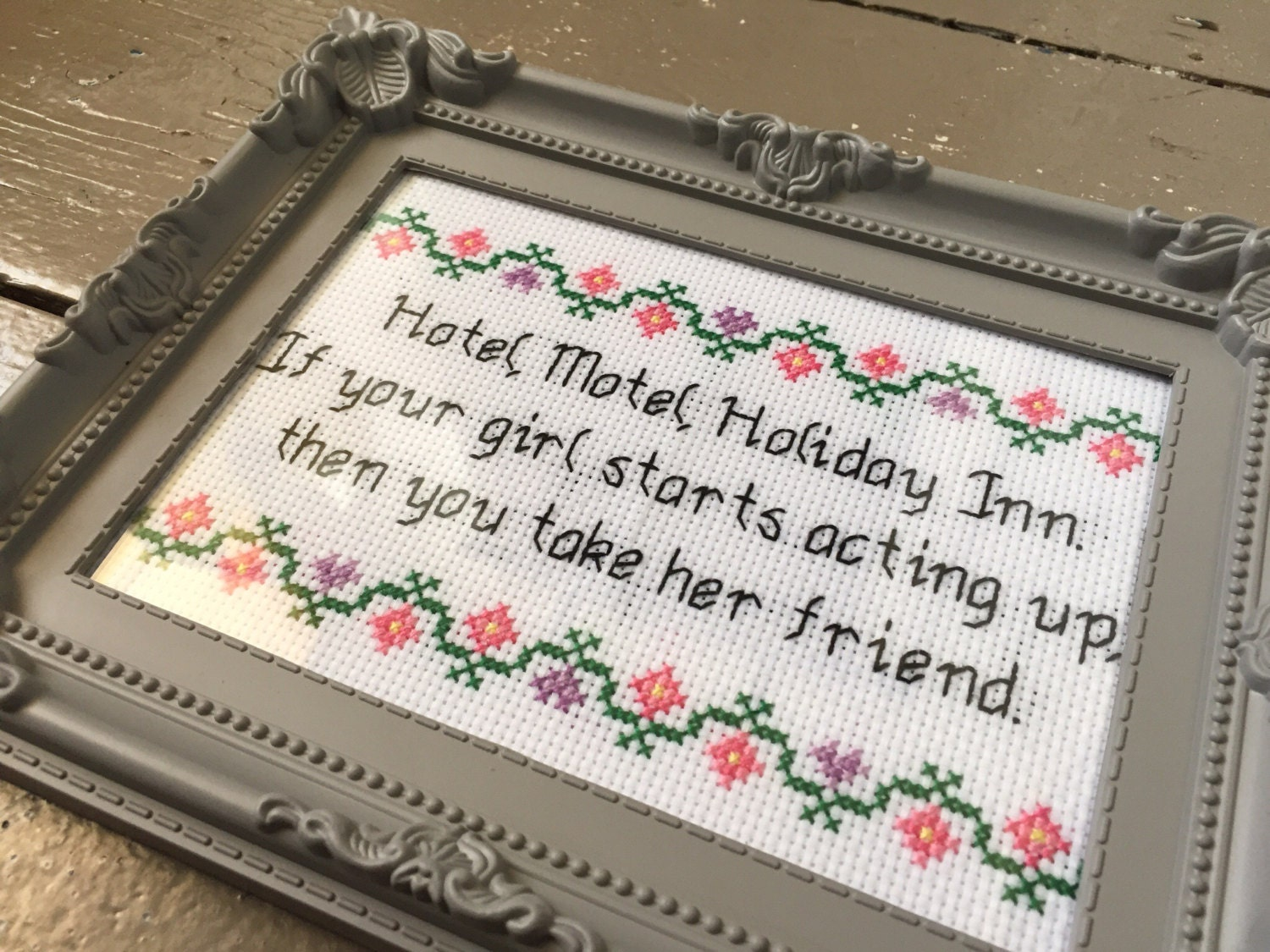 Hotel Motel Holiday Inn Rappers Delight by thatstitchcray