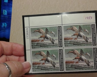1983 migratory bird hunting stamp