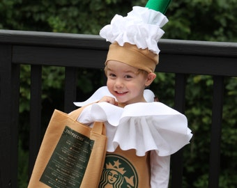 Frappuccino Coffee Kid's Costume
