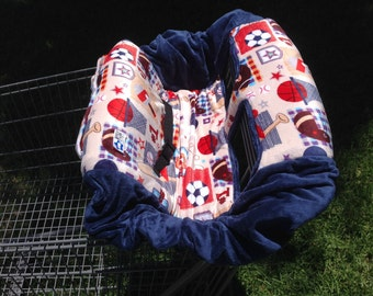 Shopping Cart Cover- Sports