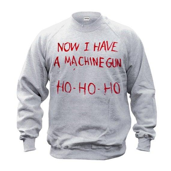 now i a machine gun shirt