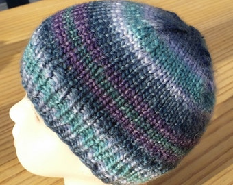 Beanie cup - Kinder - multicolor - knitted - handmade - 10146