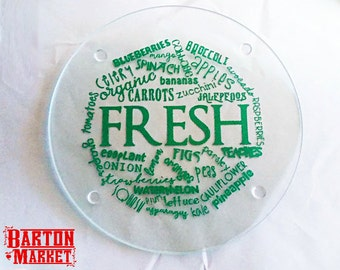 FRESH Vegetables & Fruits Cutting Board FREE SHIPPING