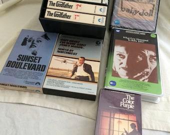 Beta Format Video Tapes
