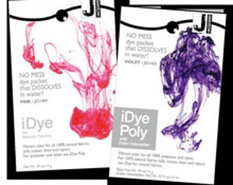 iDye dyes for home use - for Natural Fibres