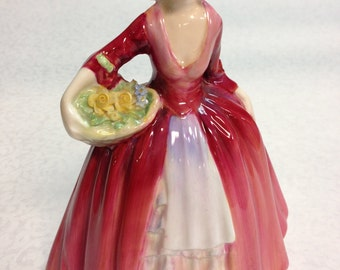 "Royal Doulton ""Janet"" HN1537 Hand Painted C.1932"