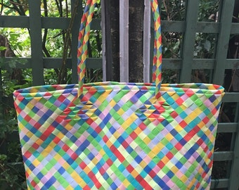 Tote bag multicolor